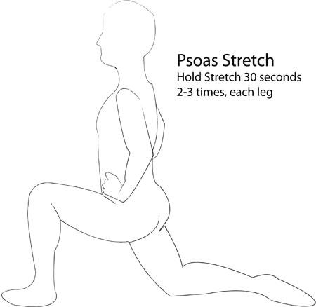 hip flexor harm from squats